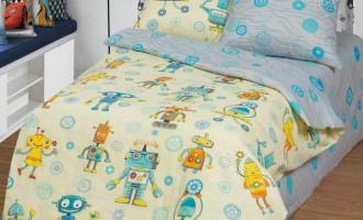 Детское постельное белье Роботы