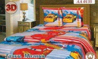 Детское постельное белье Дисней Тачки Молния Тиротекс