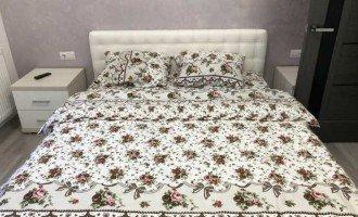 Фланелевое постельное белье Розы