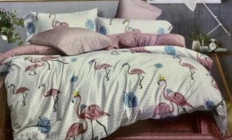 Постельное белье Moon Love ранфорс RL0208 фламинго