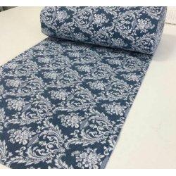 Постельное белье фланель Almira Mix Версаль Королевская синь