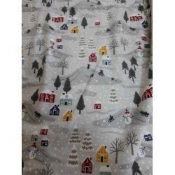 Фланелевое постельное белье Almira Mix Зима комбинированное
