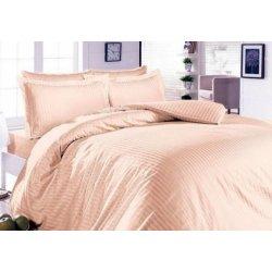 Элитное постельное белье Almira Mix Satin Stripe Беж