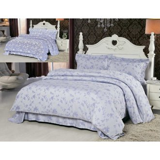 Постельное белье на круглую кровать Tencel Lila 220
