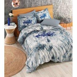Постельное бельё евро BHPC 018 Blue