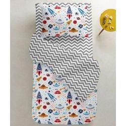 Детское постельное белье Cosas Space Color зигзаг