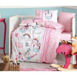 Комплект в кроватку Unicorn Pembe
