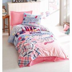 Детское постельное бельё Cotton Box Superstar Pembe