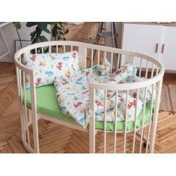 Детское постельное белье Cotton Twill Ranforce Динозаврики