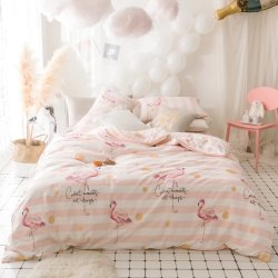 Детское постельное белье Фламинго