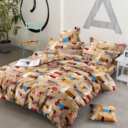 Детское постельное белье Гав-гав