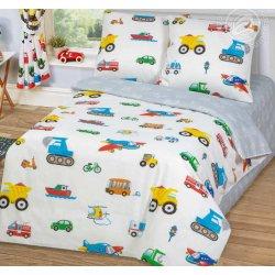 Детское постельное белье Моторчик бязь