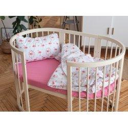 Детское постельное белье Cotton Twill Ranforce Фламинго