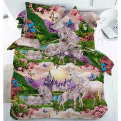 Детское постельное белье Сказочный мир единорогов