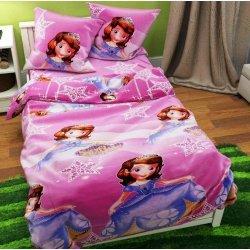 Детское постельное бельё София Disney