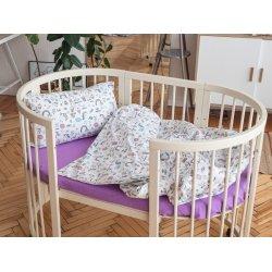 Детское постельное белье Cotton Twill Ranforce Вечеринка