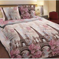 Подростковое постельное белье Весенний Париж