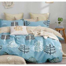 Постельное белье Cotton Twill сатин премиум Лесной бор (Украина) с компаньоном