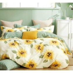 Подростковое постельное белье Cotton Twill Подсолнухи сатин