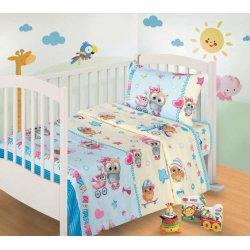 Детское постельное бельё Пташки бязь
