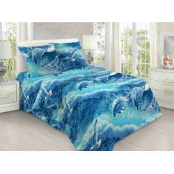 Подростковое постельное белье Дельфинарий