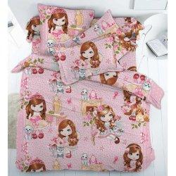 Детское постельное белье Тиротекс Куклы бязь