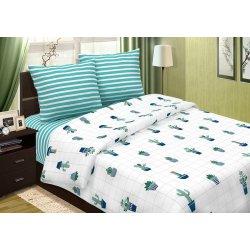 Детское светящееся постельное белье Кактусы