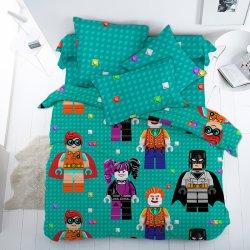Детское постельное белье Фигурки Лего
