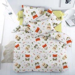 Детское постельное белье Лесные пушистики