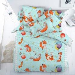 Детское постельное белье Лисенок и друзья