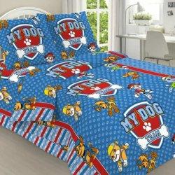 Детское постельное бельё Щенячий патруль поплин