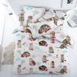 Детское постельное белье Пушистики