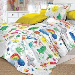 Детское постельное белье Радуга
