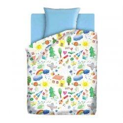 Детское постельное бельё Радуга