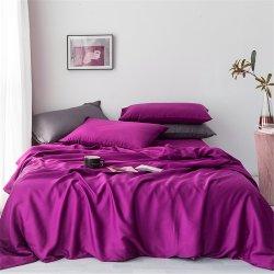 Однотонное постельное белье Cotton Twill ранфорс сливовый