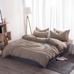 Однотонное постельное белье Cotton Twill ранфорс орех