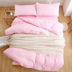 Однотонное постельное белье Cotton Twill ранфорс розовый