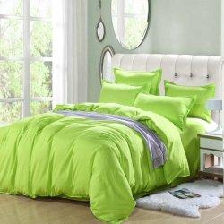 Однотонное постельное белье Cotton Twill ранфорс салатовый