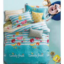 Детское постельное белье Cotton Twill сатин Любимые фрукты