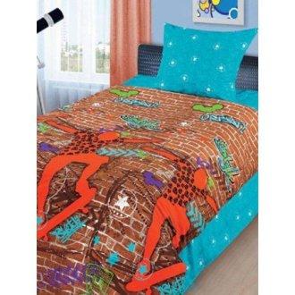 Детский комплект постельного белья «Граффити»