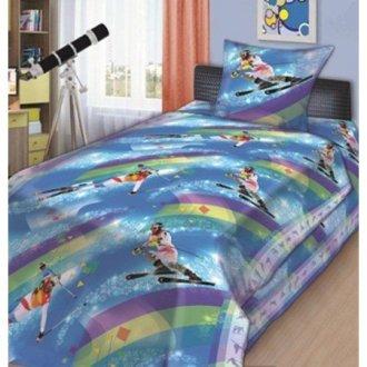 Подростковый комплект постельного белья «Слалом»