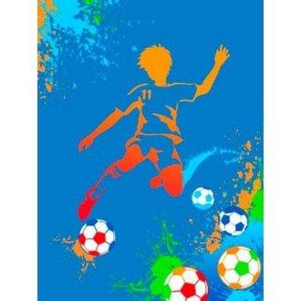 Детский плед «Футболист»