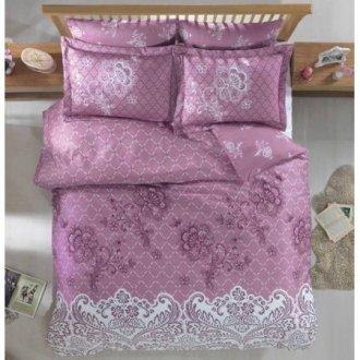 Евро комплект постельного белья «Lace»