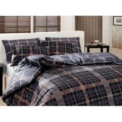 Евро комплект постельного белья «Checker Son»