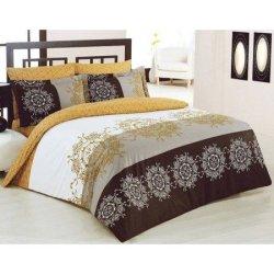 Евро комплект постельного белья «Valentina»