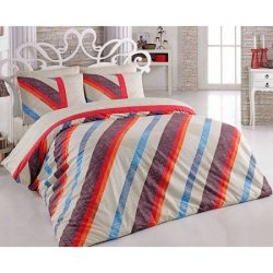 Евро комплект постельного белья «Diagonal»