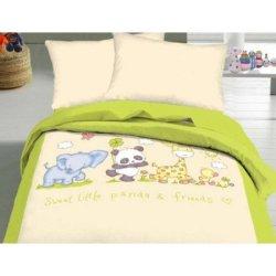 Детский комплект «Маленькая панда и ее друзья»