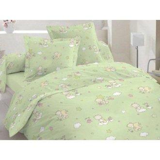 Детский комплект постельного белья «Мишутки и звёзды»