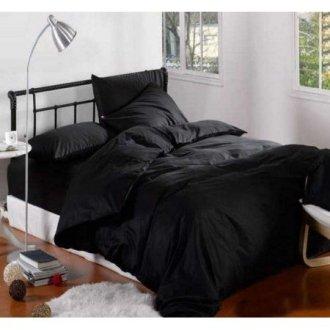 Постельное бельё Almira Mix Premium Saten Black
