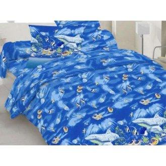 Постельное бельё 10-0192 Blue